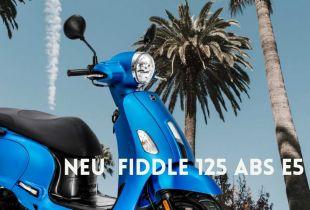 SYM Fiddle 125 ABS E5