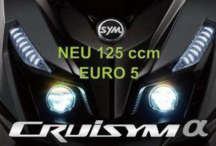SYM CRUiSYM 125 ABS  E5 neu